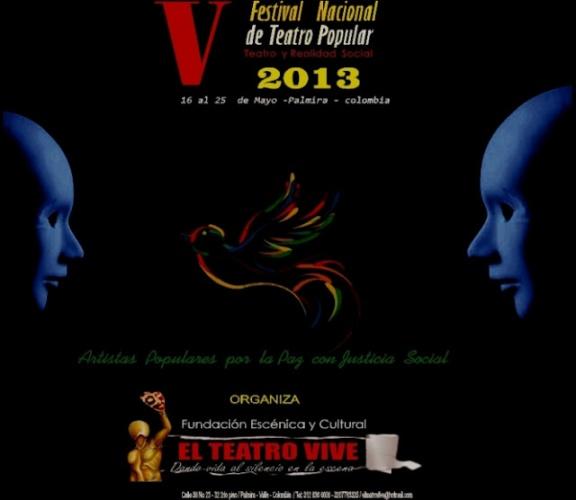 afiche  FESTIVAL NACIONAL DE TEATRO