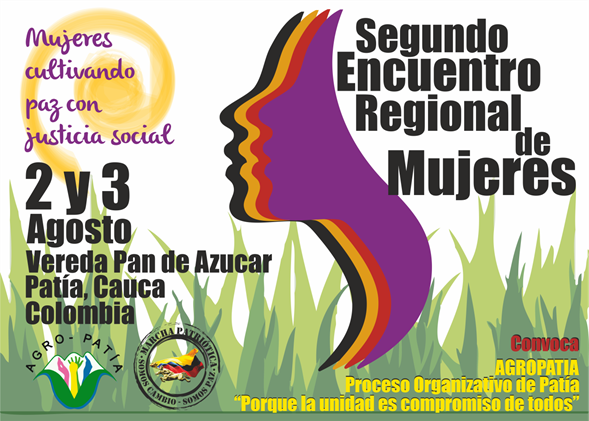 AFICHE ENCUENTRO REGIONAL MUJERES