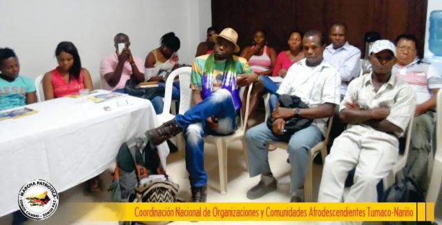 Coordinación afro Marcha Patriótica